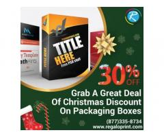 Grab A Great Deal Of 30% Christmas Discount On Packaging Boxes
