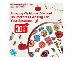 Amazing 30% Christmas Discount On Stickers Is Waiting For Your Response